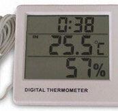 Hygrometer / Termometer / Klocka